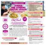 Training Sukses Aneka Mie Goreng Untuk Usaha Sabtu, 24 Agustus 2019