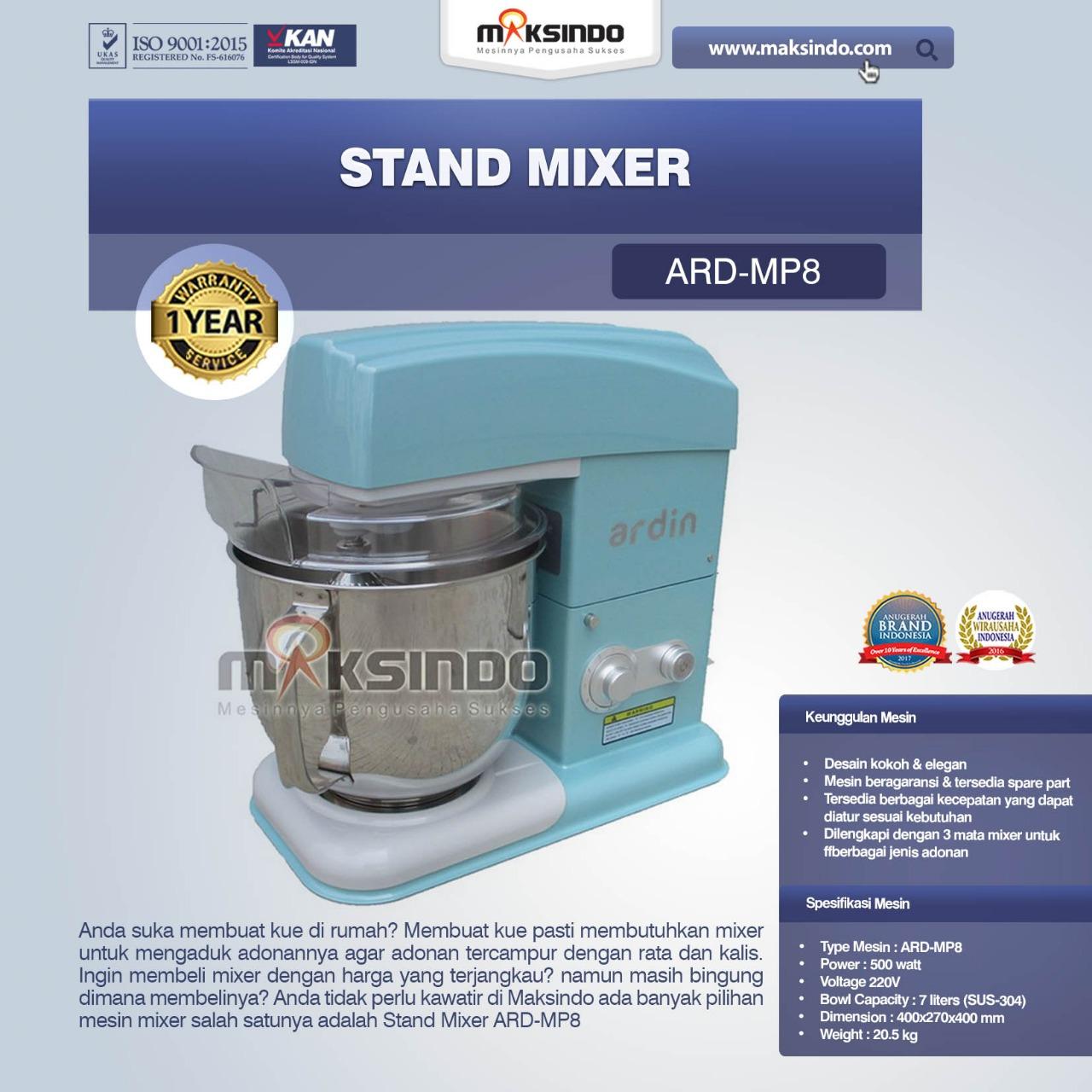 Stand Mixer ARD-MP8