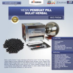 Mesin Pembuat Pill Bulat Herbal (FMS99)