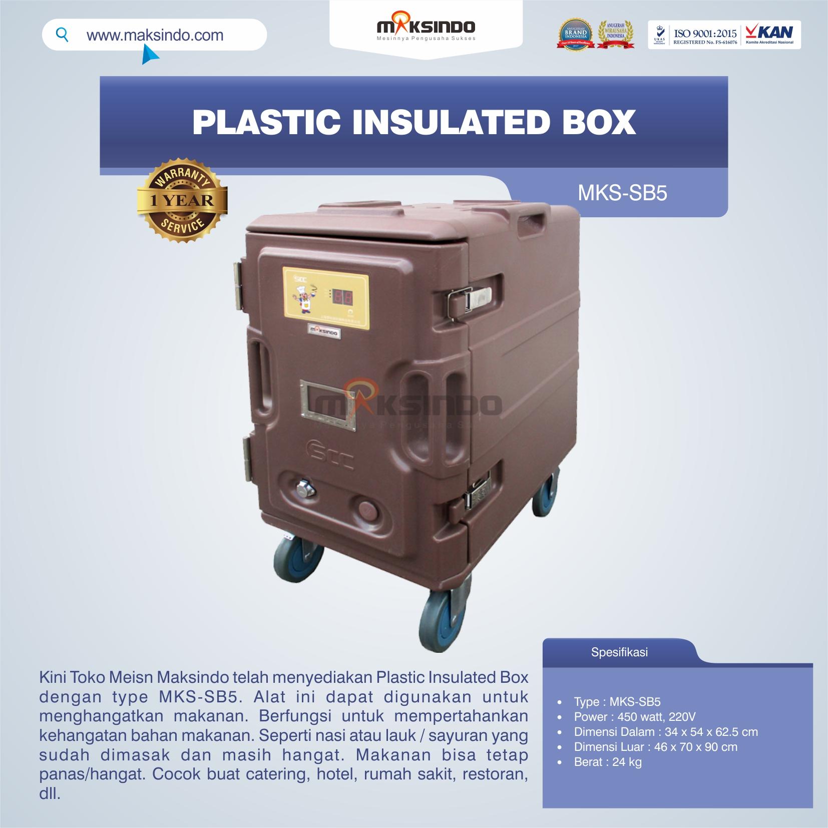Plastic Insulated Box MKS-SB5