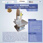 Mesin Bonesaw MKS-J320S (pemotong daging dan tulang)