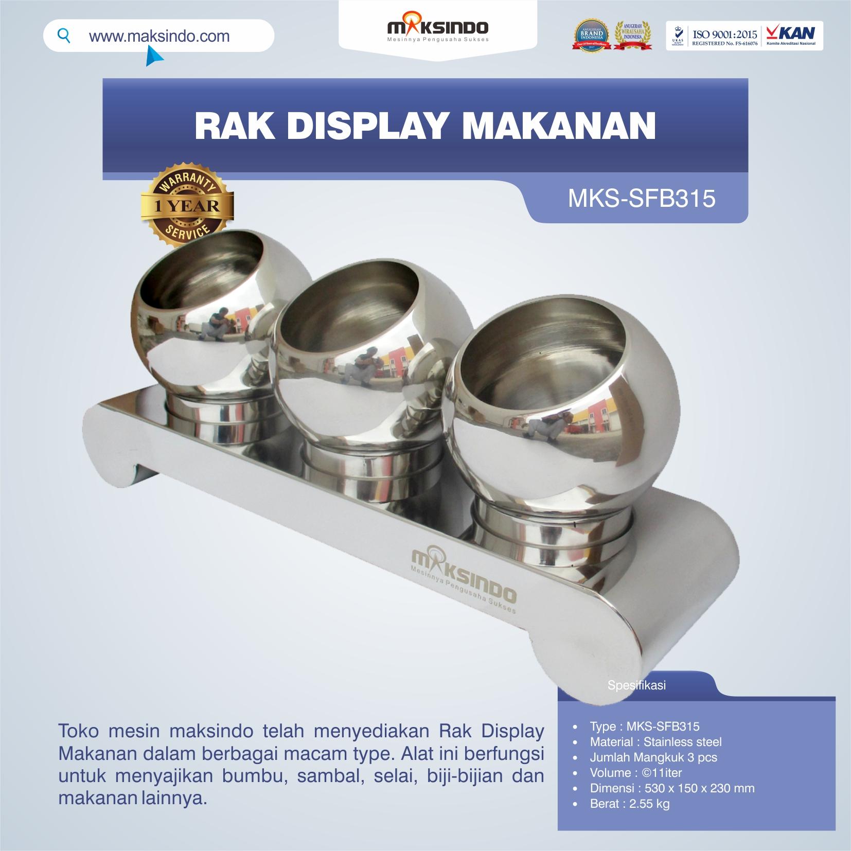 Rak Display Makanan MKS-SFB315