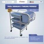 Troli Dengan 5 Tabung Persegi MKS-TRY5