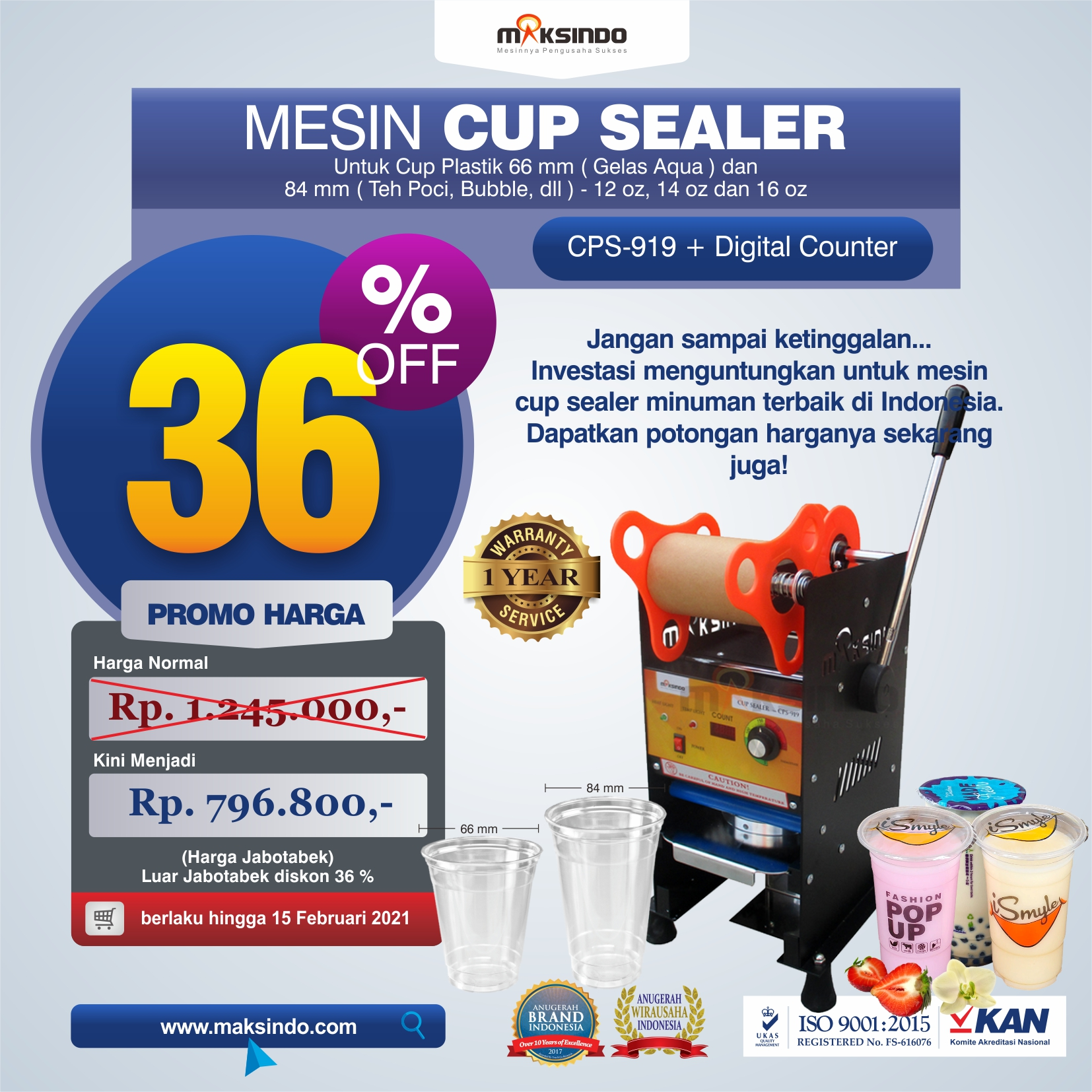 Mesin Cup Sealer Manual